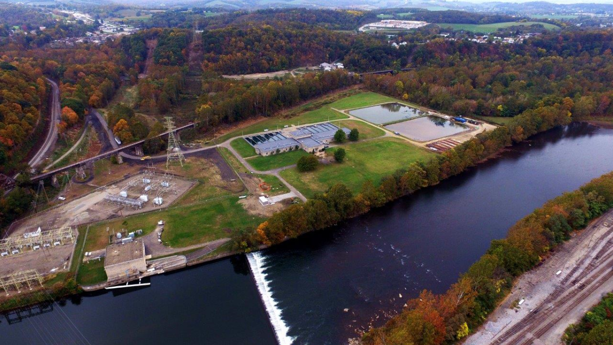 Indian Creek water treatment plant