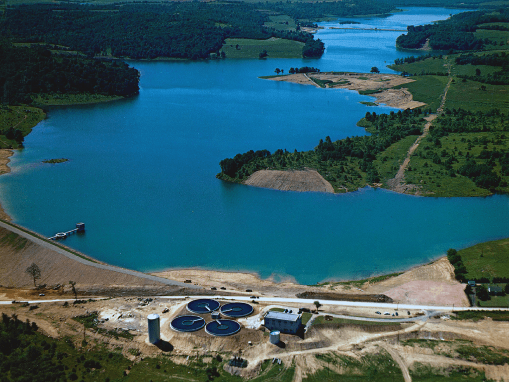 Beaver Run Reservoir circa 1952