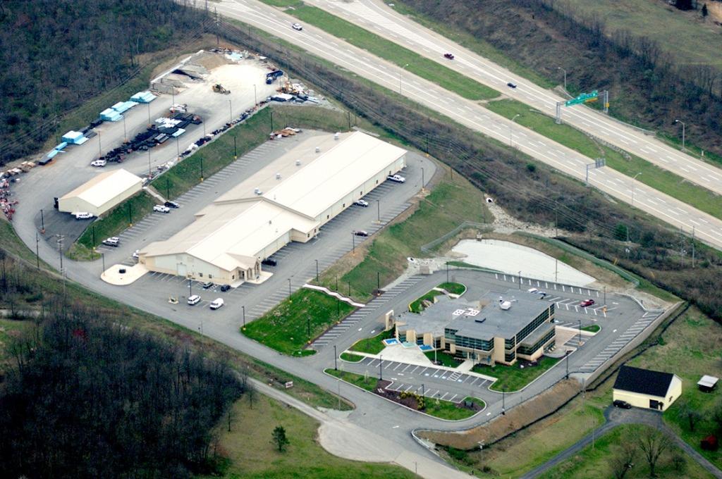 new stanton aerial photo